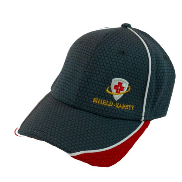 Shield-Safety Hex Mesh Cap