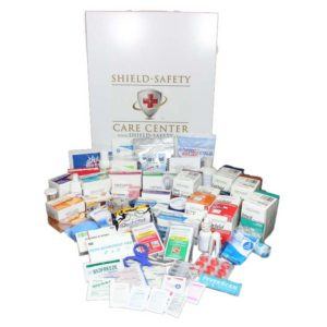 Deluxe Care Center First Aid Kit 4 Shelf