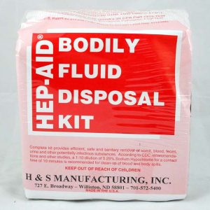 Bodily Fluid Disposal Kit