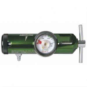 Oxygen Regulator with DSS hook-up for humidifiers0-15 LPM