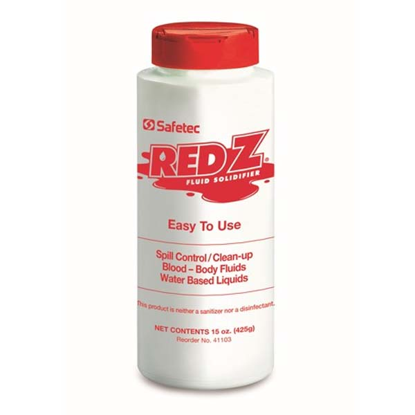 Red Z Shaker Bottle