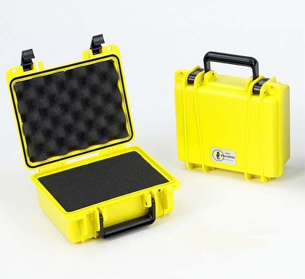 Yellow Waterproof Case with Foam