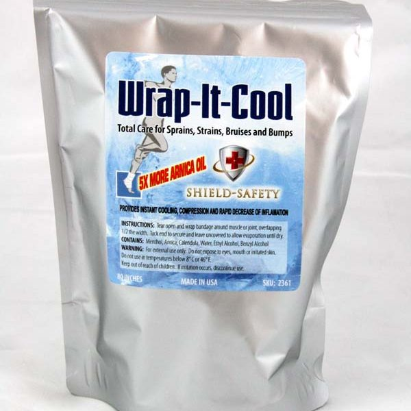 Wrap-It-Cool with Recharge Bottle