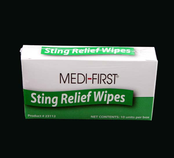 Insect Sting Wipes