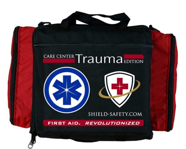 Trauma Edition First Aid Kit and Care Center