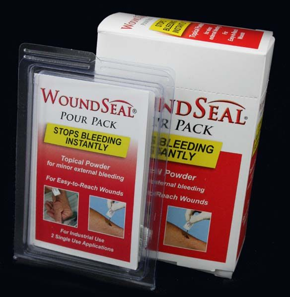 WoundSeal with 2 Powders