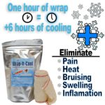Wrap-It-Cool, 2 Meter Wrap For Sprains and Strains