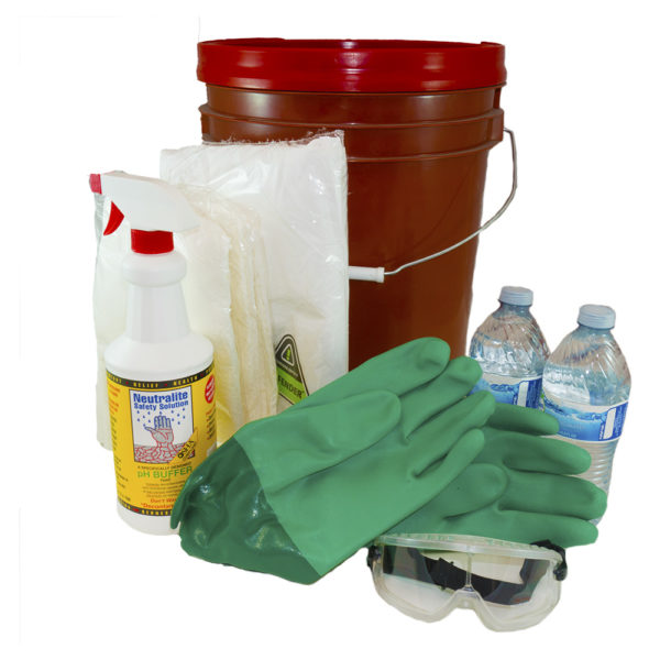 concrete exposure kit