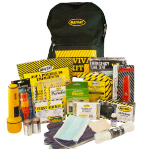 Mayday Survival Kit 1 Person 3-Day Emergency Backpack