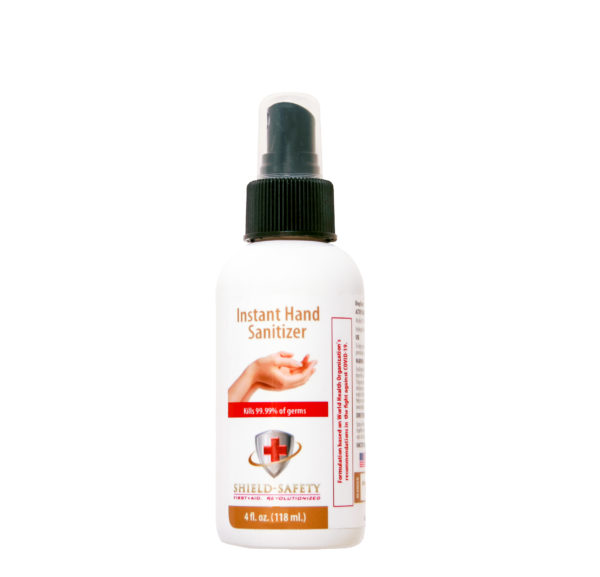 Instant Hand Sanitizer 4fl. oz. Spray Bottle