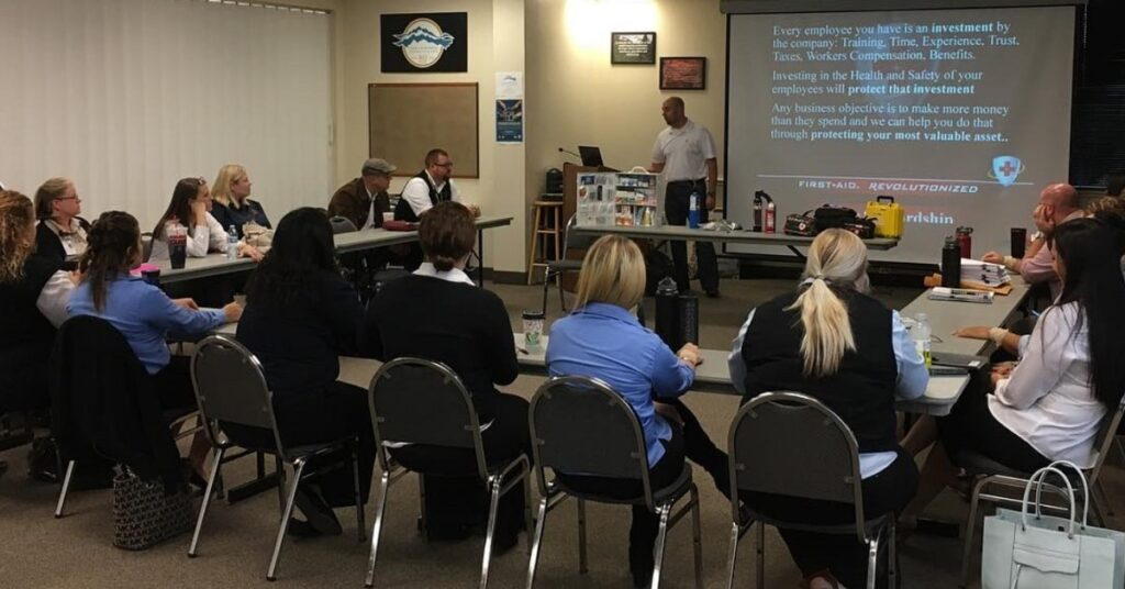 First Aid & Injury Treatment Training Classes for Utah Businesses